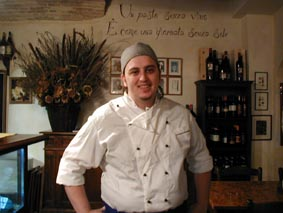 Chef at Enoteca